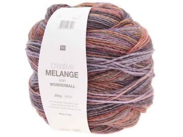 Creative Melange AR Wonderball  Farbe 015 flieder-orange