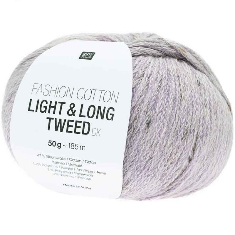 Fashion Light & Long Tweed Farbe 010 flieder