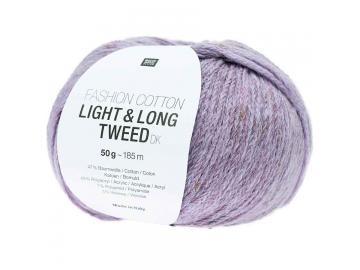 Fashion Light & Long Tweed Farbe 014 lila