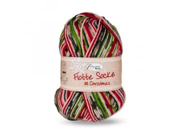Flotte Socke Christmas 6-fach