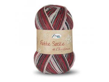 Flotte Socke Christmas 4-fach