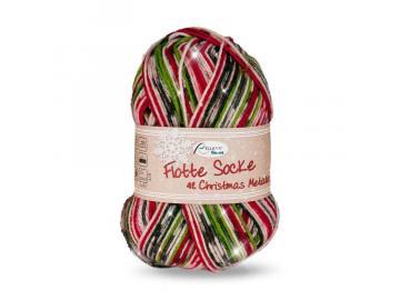 Flotte Socke Christmas 4-fach Metallic