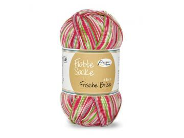 Flotte Socke Frische Brise Farbe 1446 pink-apfel-natur