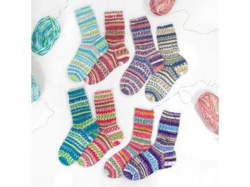 """Flotte Socke """"Frische Brise"""""""