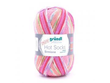 Hot Socks Sirmione 03 rose-bunt