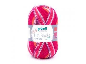 Hot Socks Sirmione 07 pink-bunt