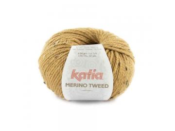 Merino Tweed Farbe 314 camel