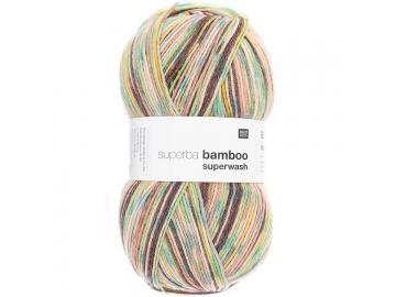 Socken Bamboo Farbe braun-grün-mix