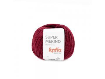 Super Merino Farbe 24 weinrot