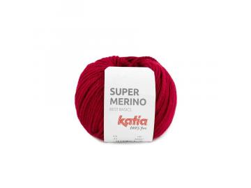 Super Merino Farbe 23 rubinrot