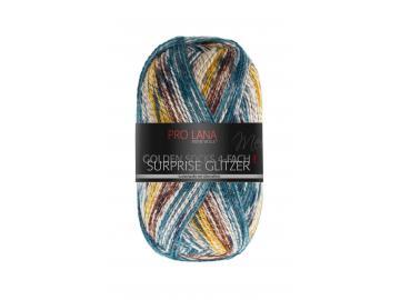 Surprise Glitzer Farbe 442 dunkelblau-braun