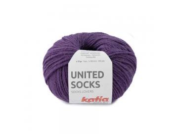 United Socks Farbe 13 perlbrombeer