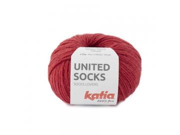 United Socks Farbe 18 erdbeerrot