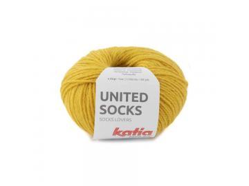 United Socks Farbe 19 senfgelb