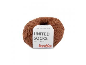 United Socks Farbe 2 rostrot