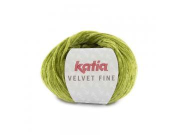 Velvet fine Farbe 220 moosgrün