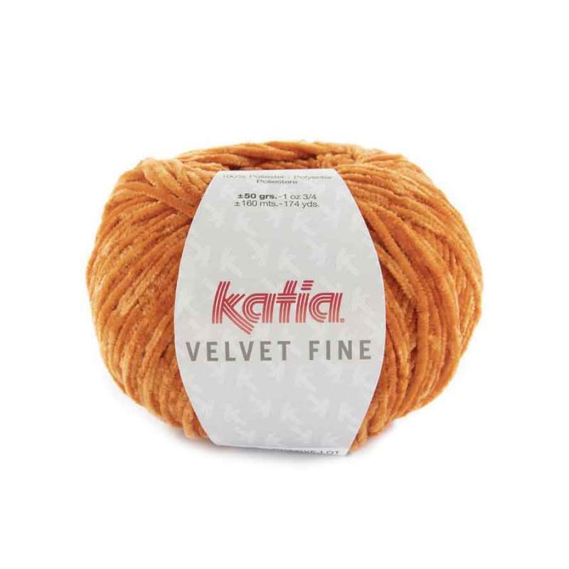 Velvet fine Farbe 222 orange